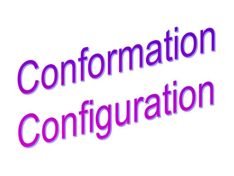 Conformations du cyclohexane Conformation bateau