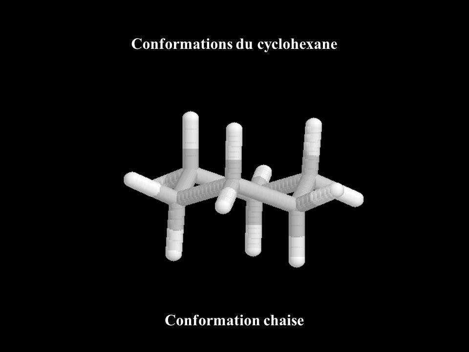 Conformations du cyclohexane Conformation chaise