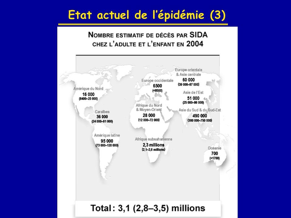 Etat actuel de l'épidémie (3)
