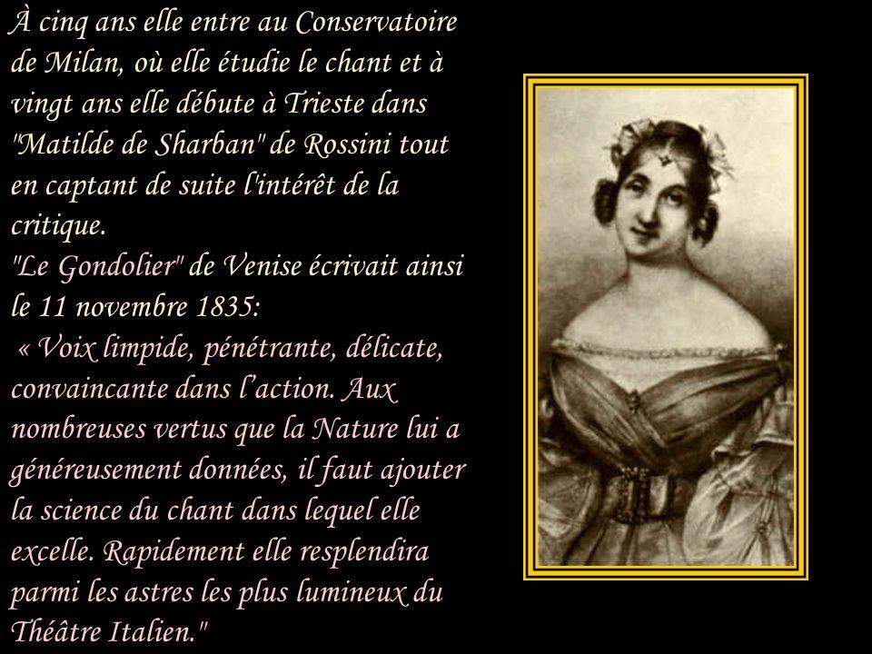 Giuseppina Strepponi dont le vrai nom était Clelia Maria Josepha, est née aux Éloges commune de Lodi en Lombardie le 8 septembre 1815 d'une famille co