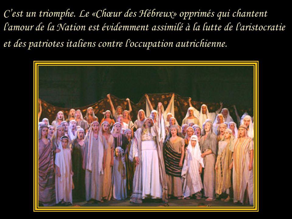 Le 9 mars 1842 Verdi crée Nabucco à la Scala avec Giuseppina Strepponi dans le rôle d'Abigaille, un rôle qui l'enthousiasme dès que Verdi le lui montr