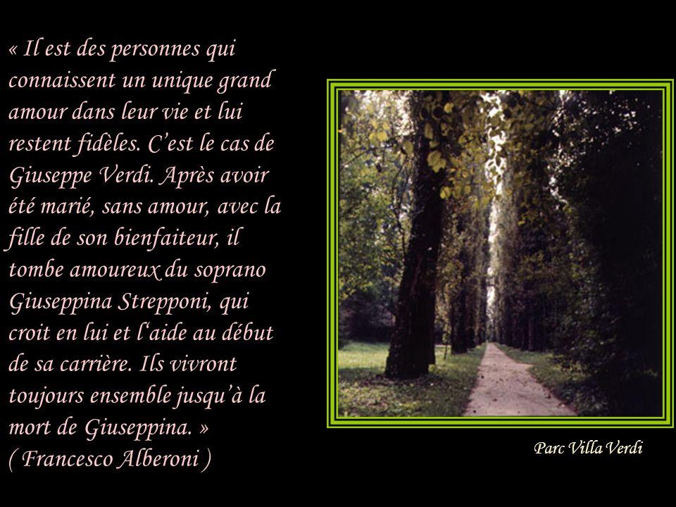 Verdi n entendait les remontrances que lorsqu elles provenaient d un seul homme : son bienfaiteur et ami, Antonio Barezzi.