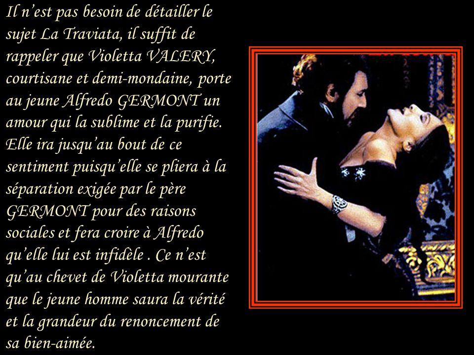 « Oh, mon Verdi, » écrivit Giuseppina dans une lettre extrêmement émouvante « je ne te mérite pas, et l'amour que tu as pour moi est un don, un baume