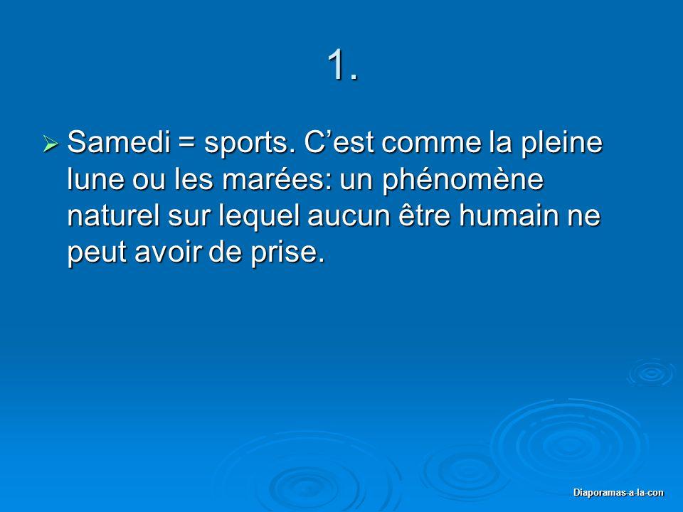 Diaporamas-a-la-con 1. Samedi = sports.