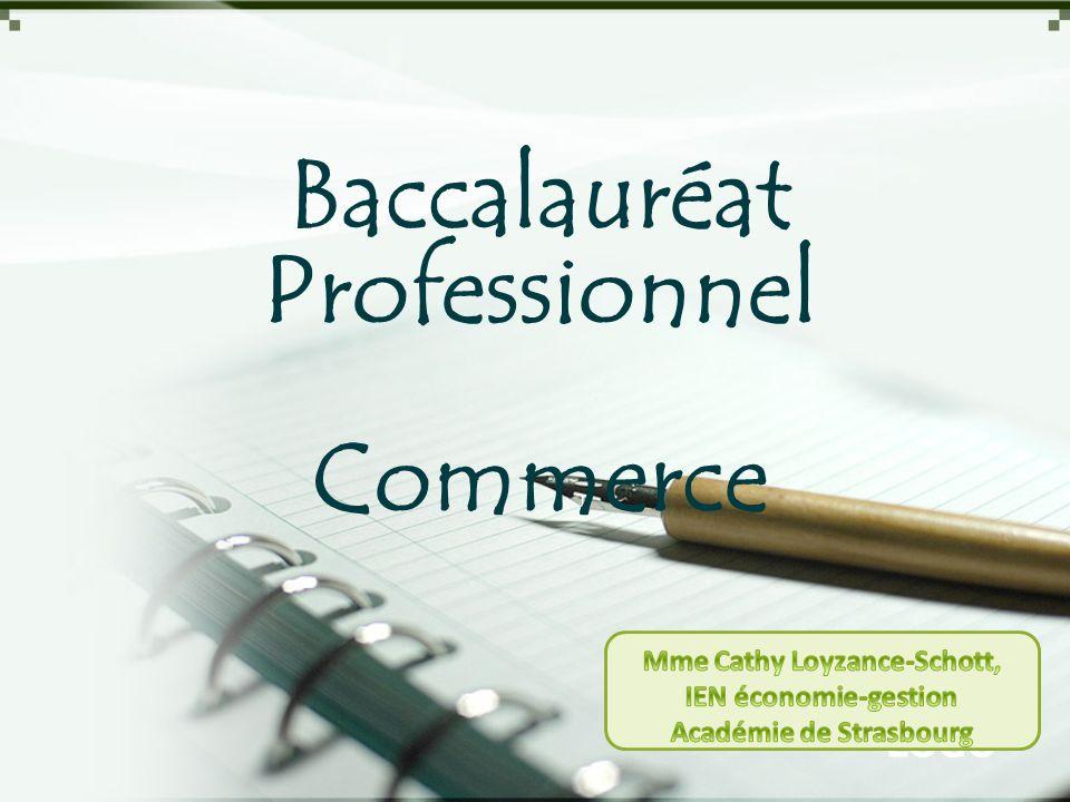LOGO Baccalauréat Professionnel Commerce