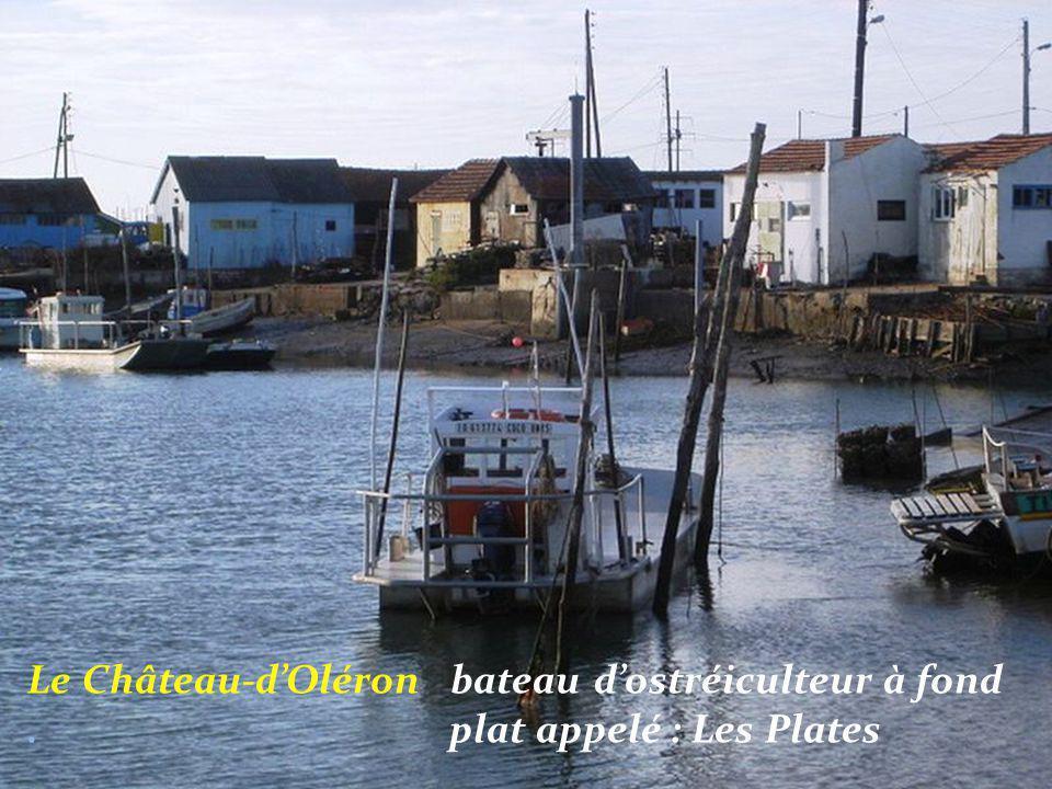 Le Château-d'Oléron un bateau de pêche