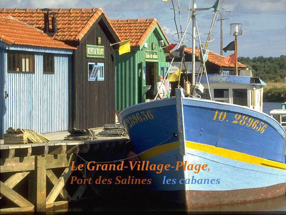 Le Grand-Village-Plage bei Flut