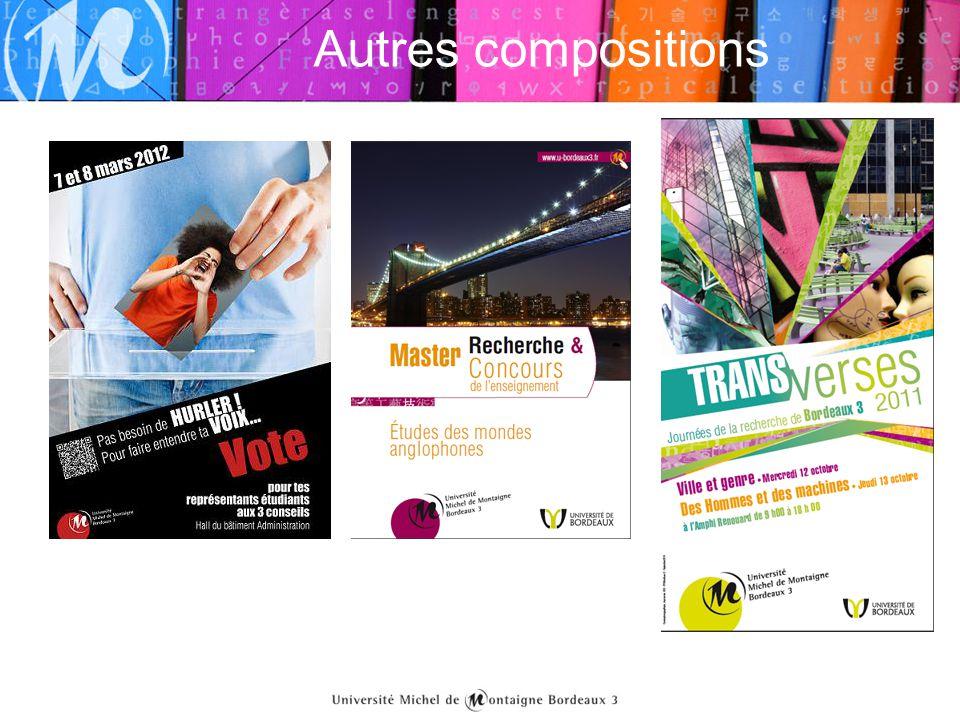 Autres compositions