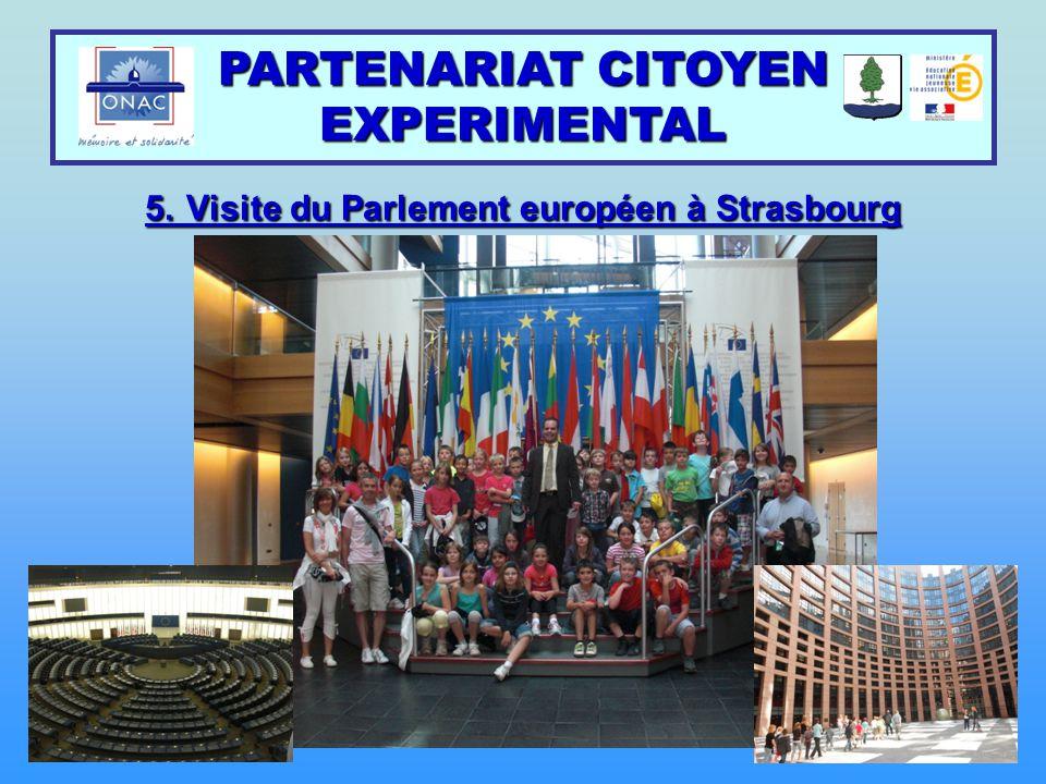 PARTENARIAT CITOYEN EXPERIMENTAL 6. Remise des diplômes de jeunes eurocitoyens