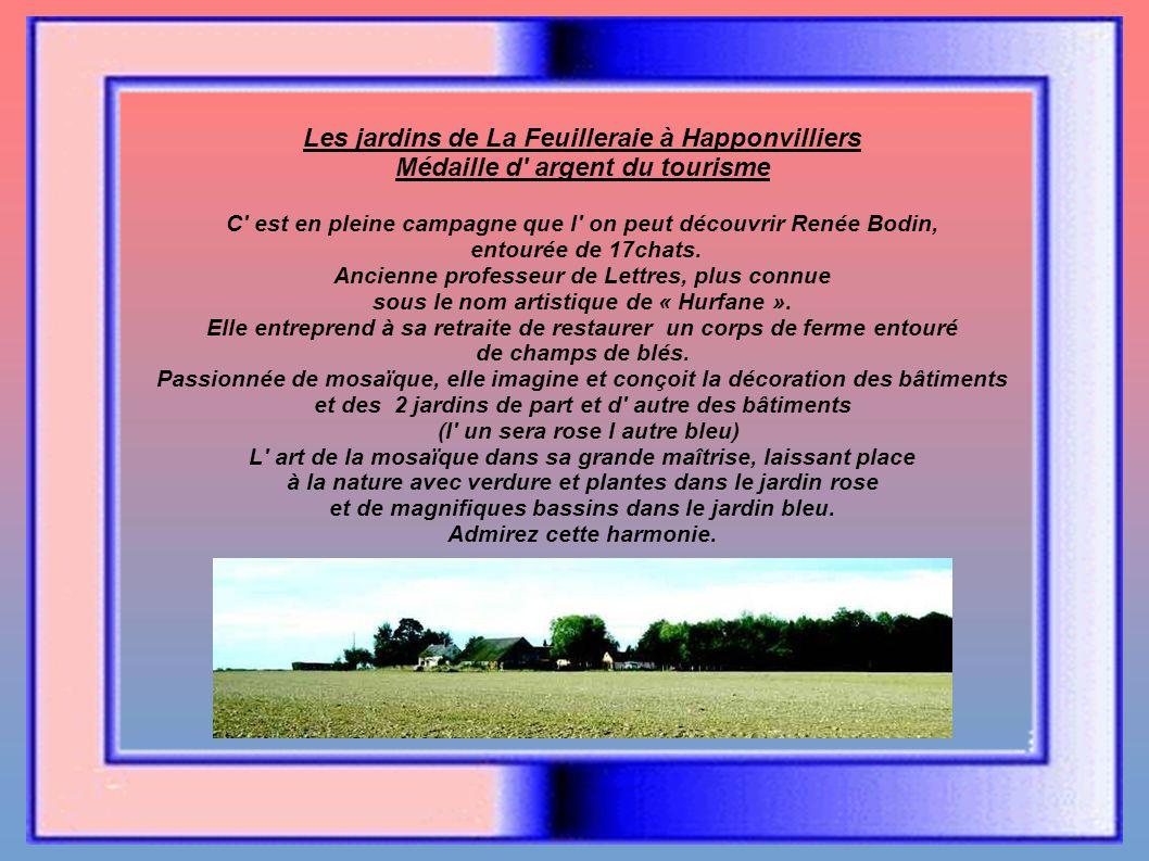 La Feuilleraie Le jardin rose et bleu de Happonvilliers Mark Knopfler Création malouine
