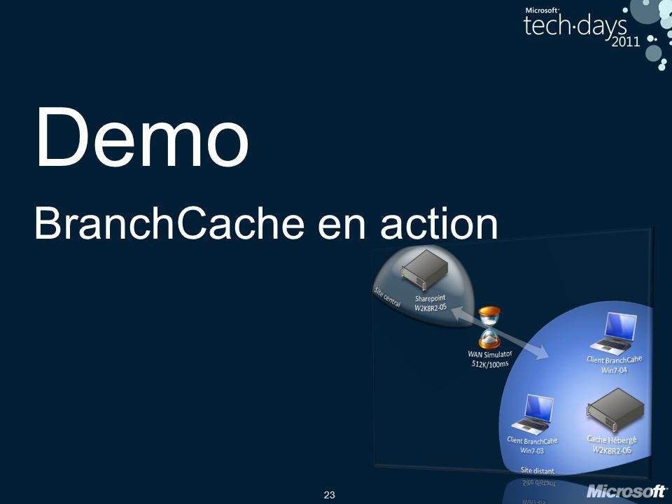 23 Demo BranchCache en action