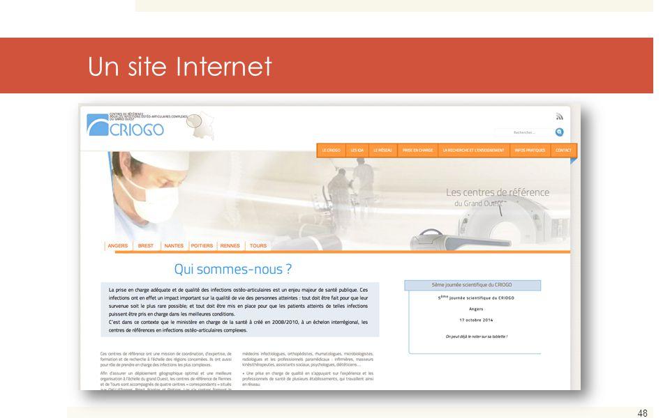 48 Un site Internet
