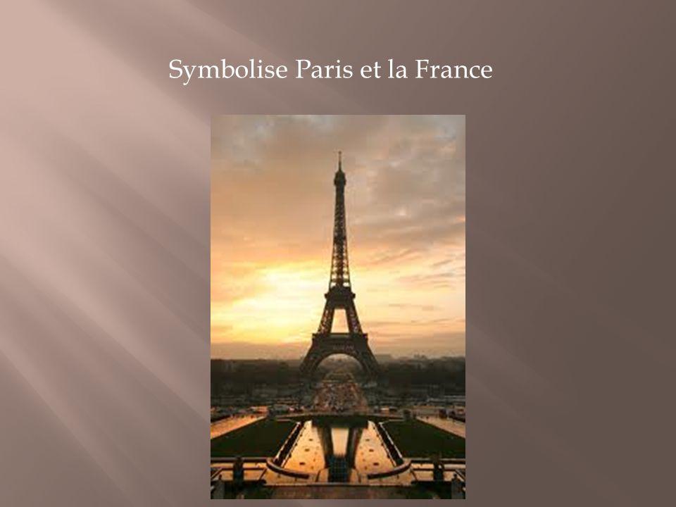 Symbolise Paris et la France