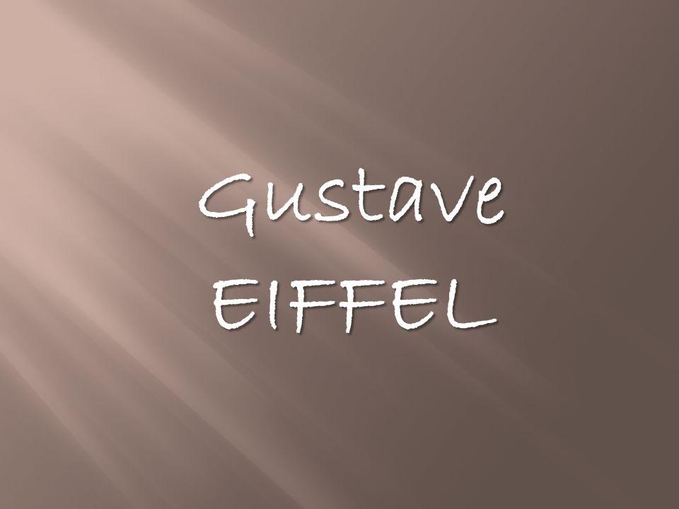 1. Les débuts de Gustave EIFFEL 2. L'architecture 3. La tour Eiffel 4. L'aérodynamisme