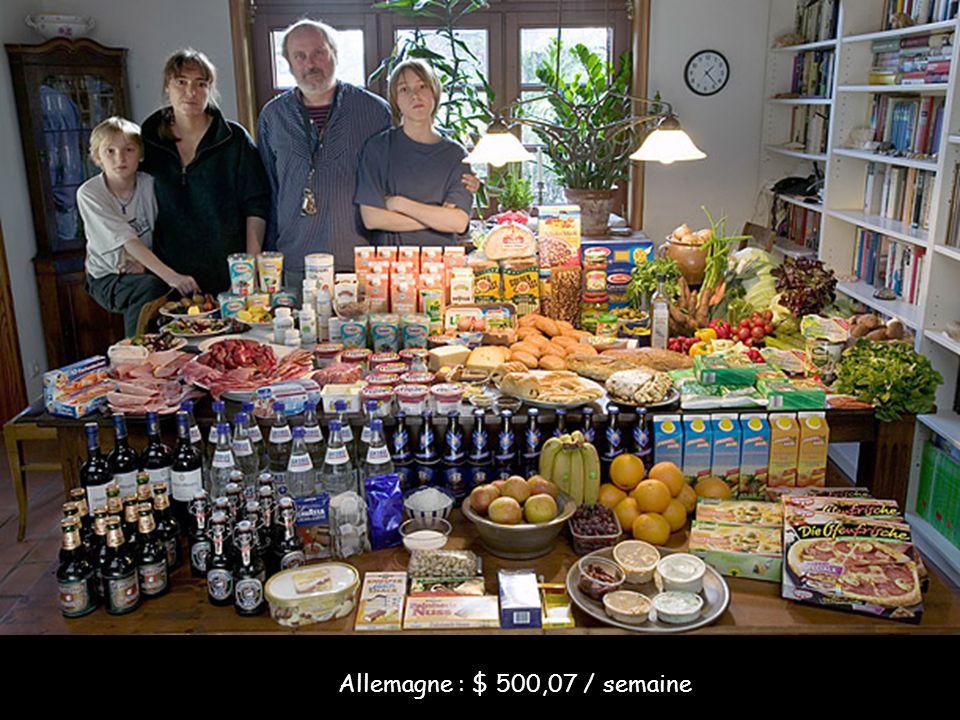 Comment mange la planète Comment mangent les gens à l'autre bout de la planète ? C'est la question à laquelle le photographe Peter Menzel a tenté de r