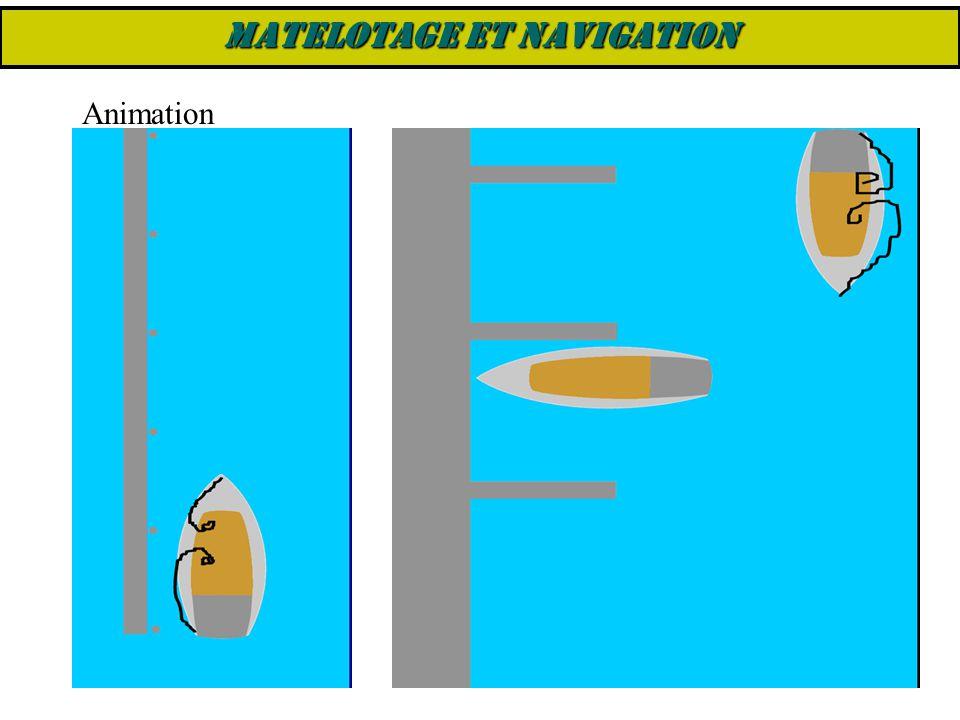 Animation MATELOTAGE ET NAVIGATION