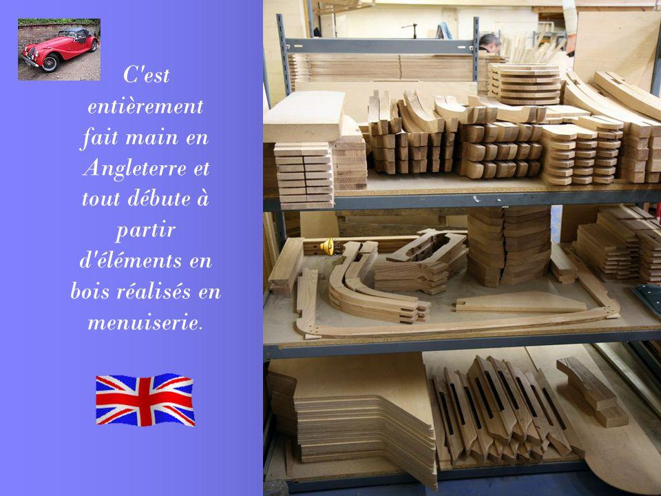C est entièrement fait main en Angleterre et tout débute à partir d éléments en bois réalisés en menuiserie.