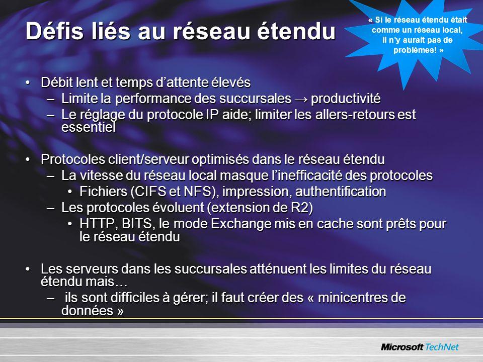 Service de fichiers répartis •Déploiement du service de fichiers répartis Démonstration