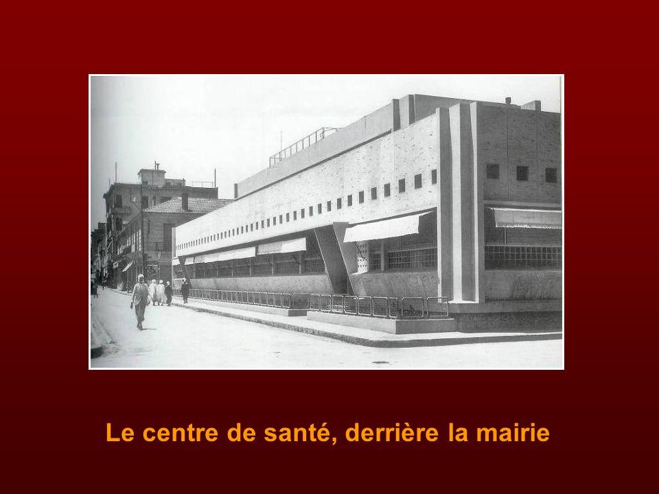En juillet 1934, le maire Lucien Bellat pose la première pierre de l'hôpital civil au faubourg Thiers