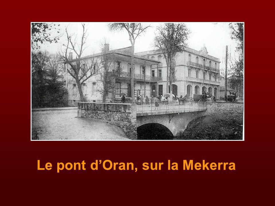L'école Marceau, près du pont d'Oran