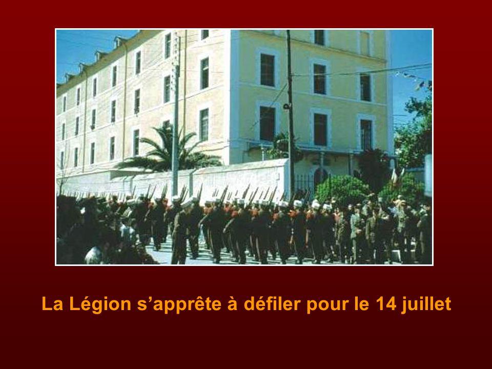 La musique de la Légion en concert sur la place Carnot