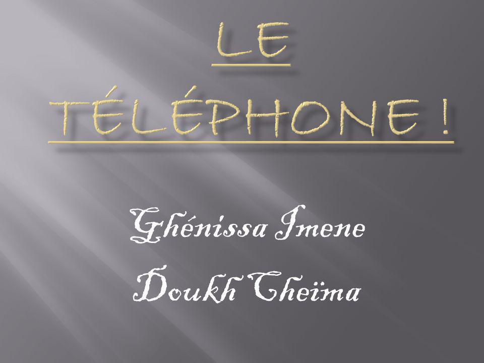 Ghénissa Imene Doukh Cheïma