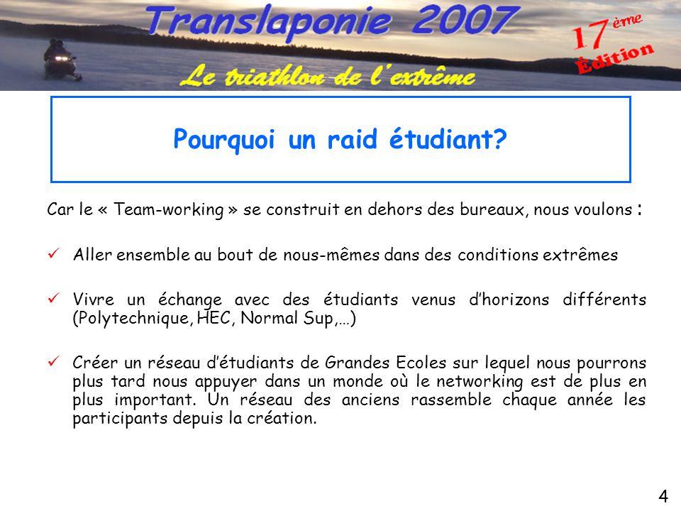 5  …directement auprès des étudiants : •La « Campagne Ecole » de Scandimania : visite d'une vingtaine d'écoles en France, promotion du raid grâce aux plaquettes 800) et aux affiches (800).