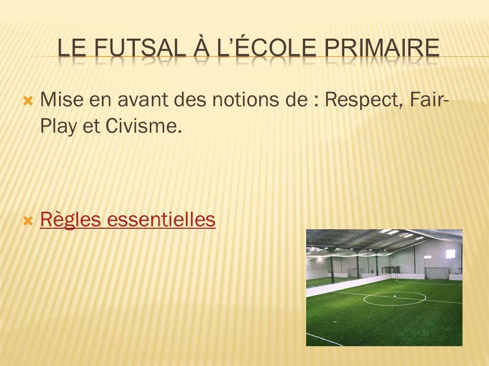  La pratique du Futsal renvoie directement aux compétences 6 et 7 attendues au palier 2 du socle commun.