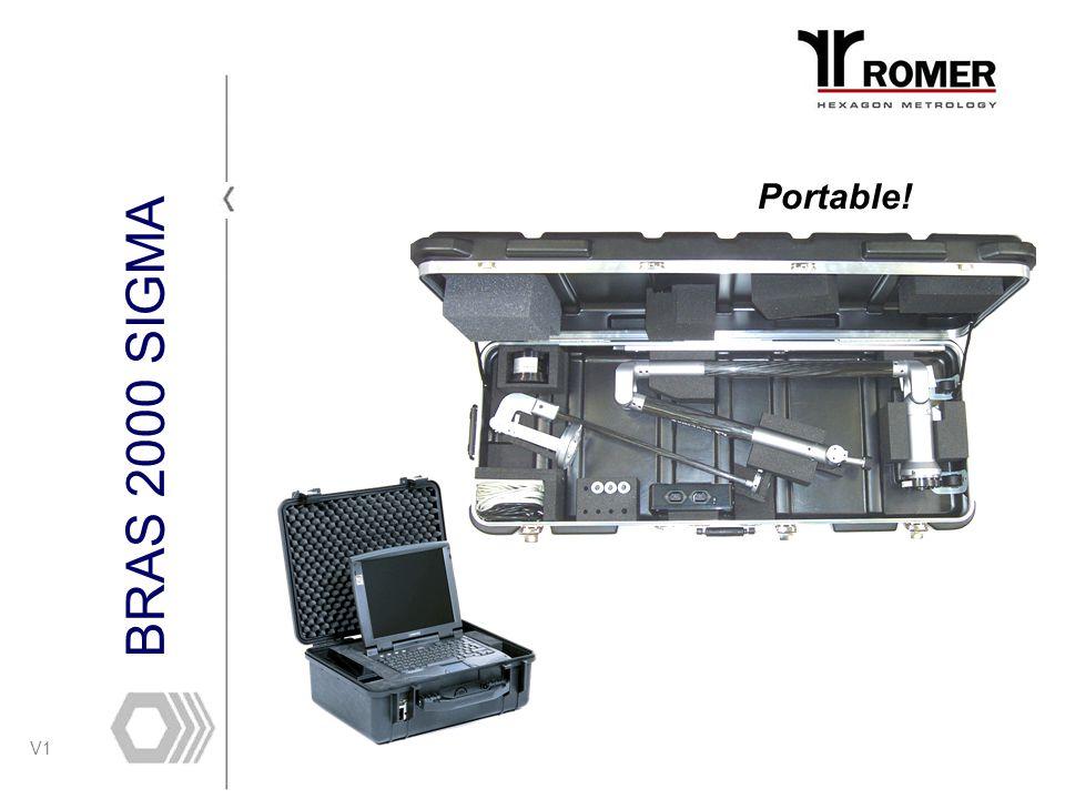 V1 BRAS 2000 SIGMA Portable!