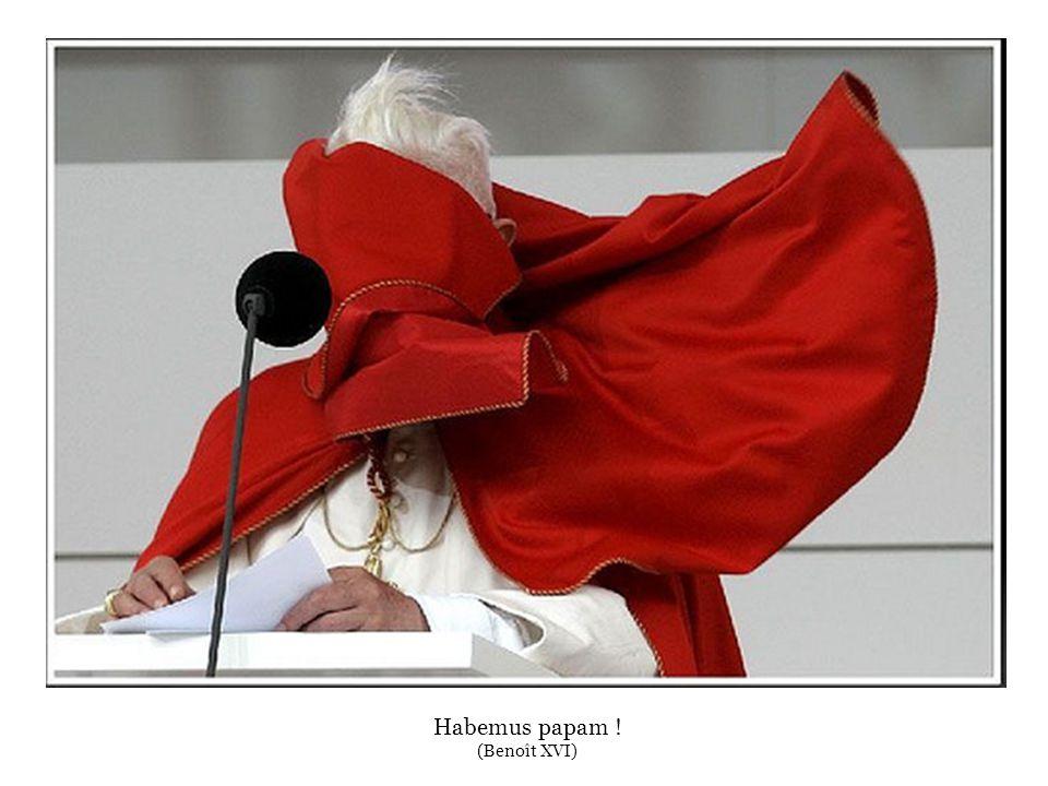 Habemus papam ! (Benoît XVI)