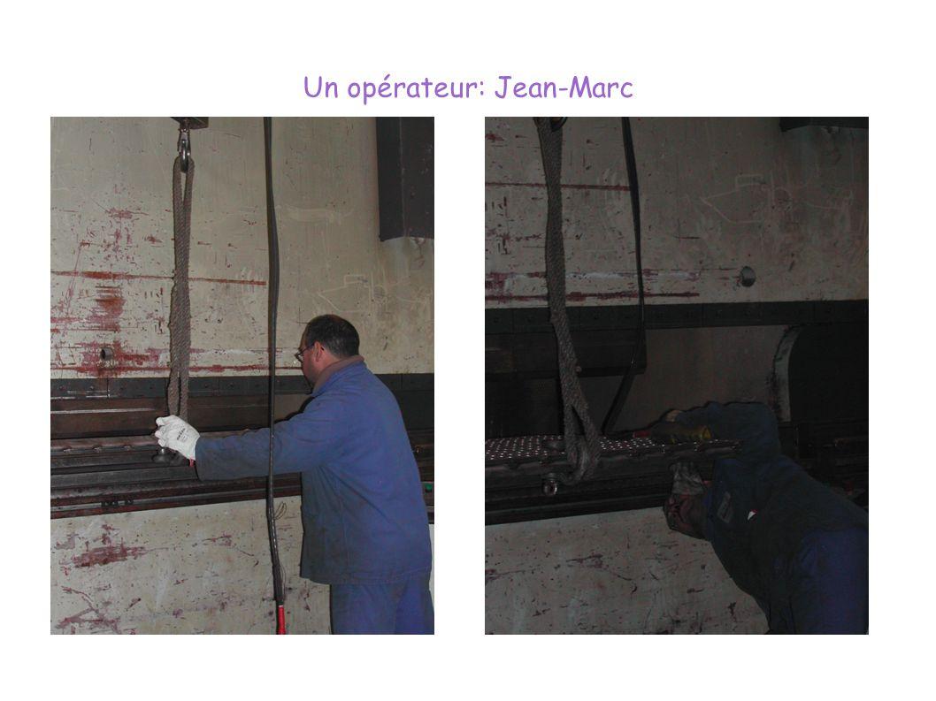 Un opérateur: Jean-Marc