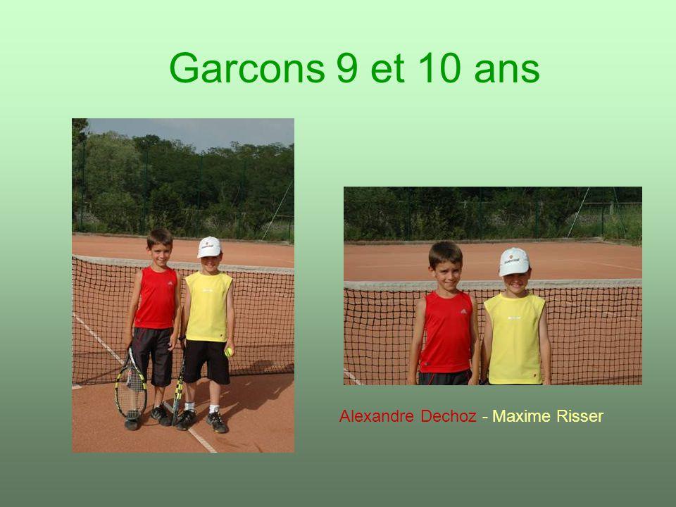 Garcons 9 et 10 ans Alexandre Dechoz - Maxime Risser