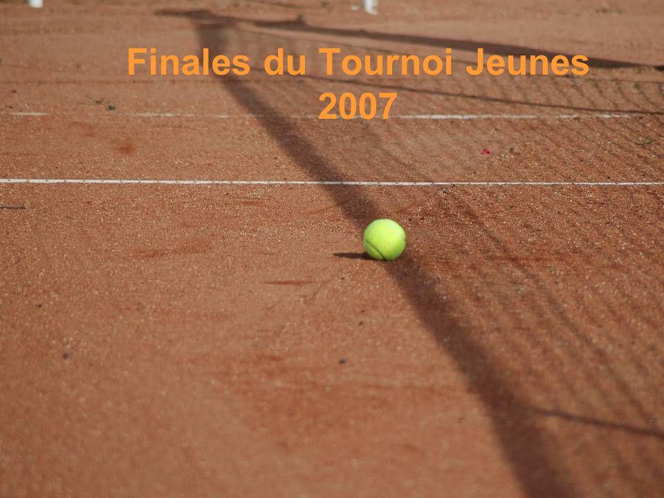 Finales du Tournoi Jeunes 2007