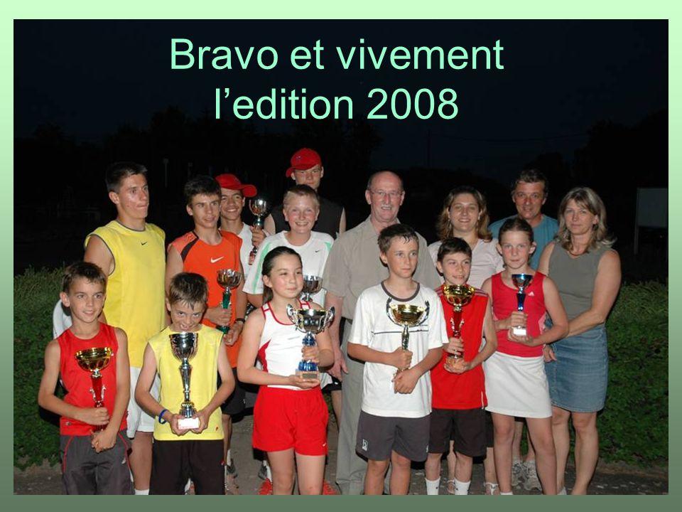 Bravo et vivement l'edition 2008