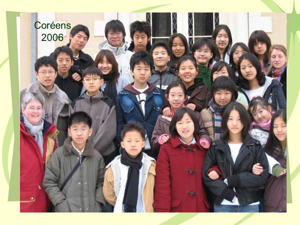 Coréens 2006