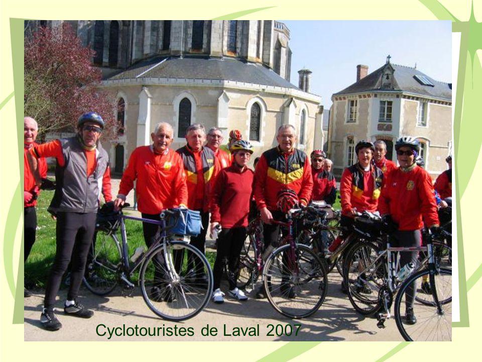 Cyclotouristes de Laval 2007