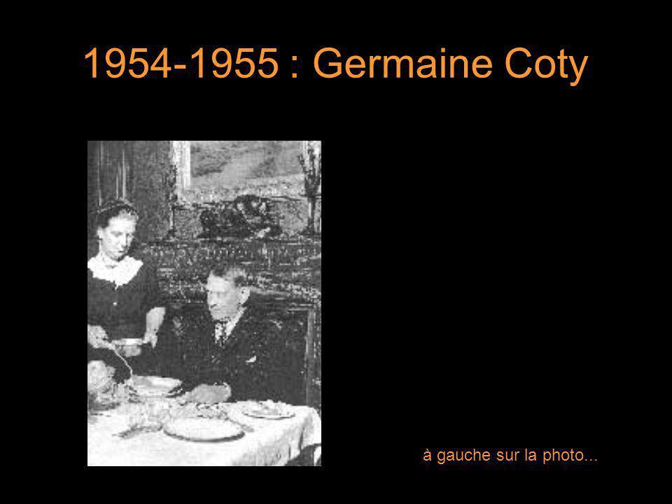 4 1958-1969 : tante Yvonne de Gaulle 4 à gauche sur la photo...