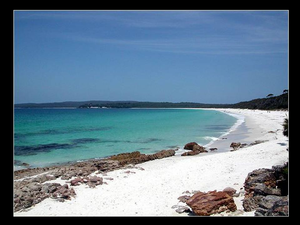 Sable blanc en Australie (Hyams Beach)