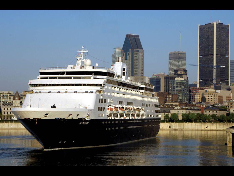 Les croisières internationales 2011 • 26 navires •31 408 passagers •7 866 membres d'équipage
