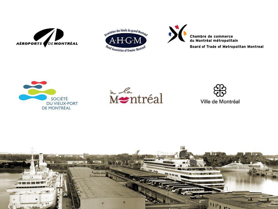 • Positionner Montréal comme destination incontournable • Augmenter le nombre de lignes de croisières • Offrir une expérience croisière mémorable à Montréal •Accroître la notoriété de Montréal Création d'un comité croisière pour…