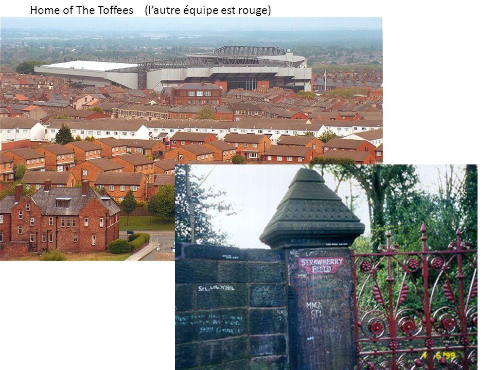 Home of The Toffees (l'autre équipe est rouge)