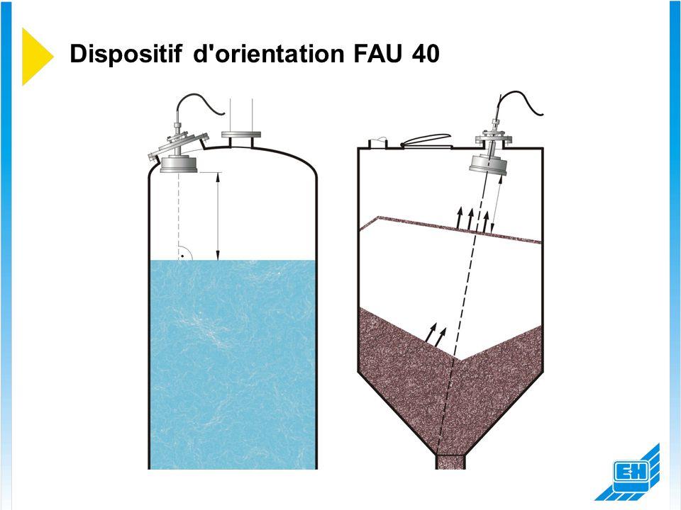 Dispositif d'orientation FAU 40