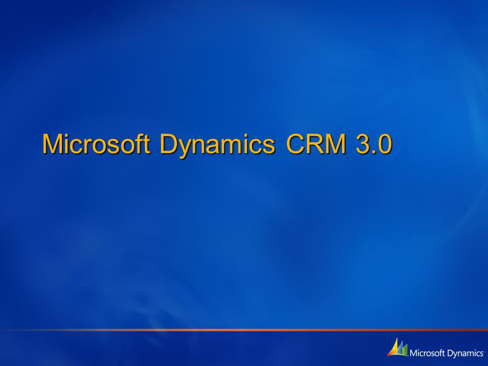 Séminaires Technet - CRM 3.0 Moteur de workflow paramétrable Le moteur de workflow paramétrable de Microsoft CRM 3.0 permet aux entreprises d'automatiser et d'intégrer des processus métier issus de Microsoft CRM sur un ensemble d'autres applications et services métier.