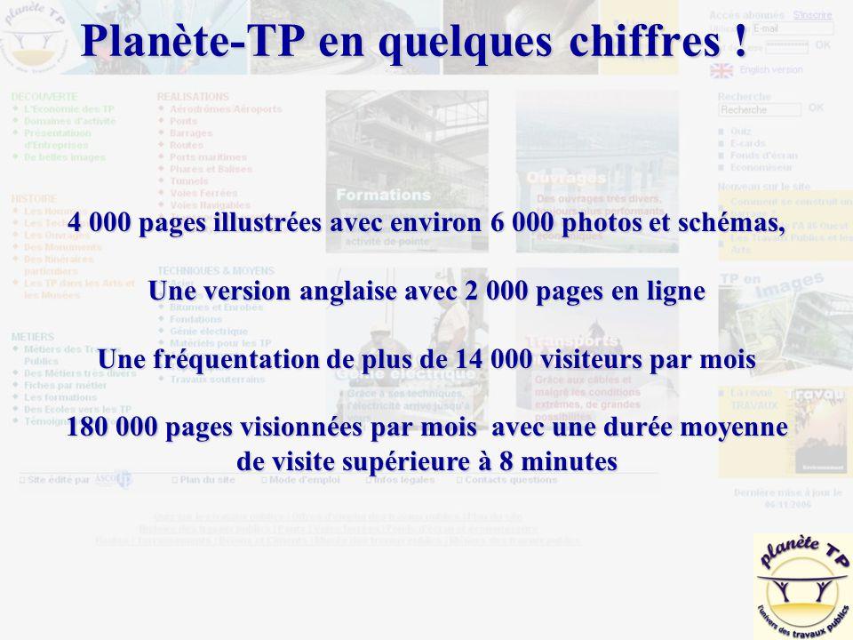 4 000 pages illustrées avec environ 6 000 photos et schémas, Une version anglaise avec 2 000 pages en ligne Une fréquentation de plus de 14 000 visite