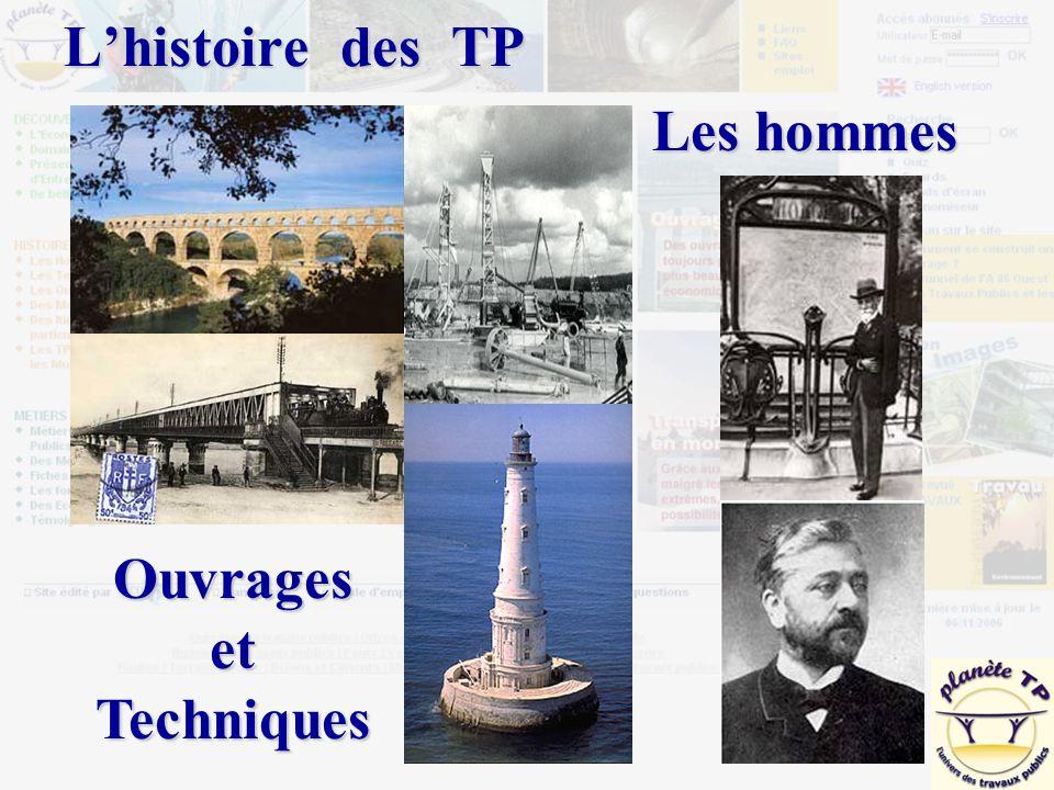 L'histoire des TP Les hommes OuvragesetTechniques