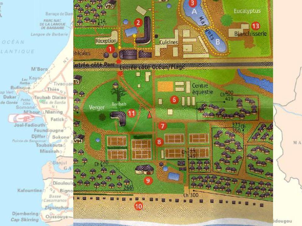 Le domaine de Nianing situé à 80 kms au Sud de DAKAR, n'a pu être conçu, réalisé et géré que par des amoureux de la nature.