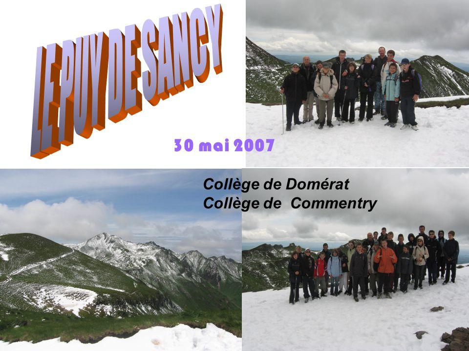 30 mai 2007 Collège de Domérat Collège de Commentry