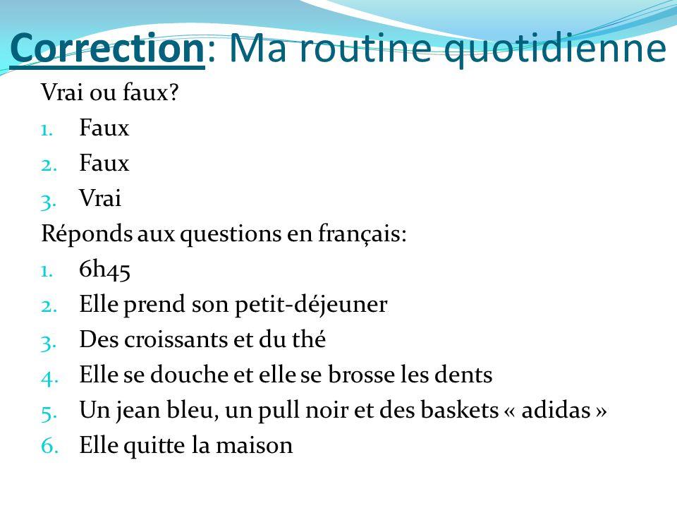 Les devoirs/ Homework Lundi 30 mars  Faire les exercices.  Do the exercises.