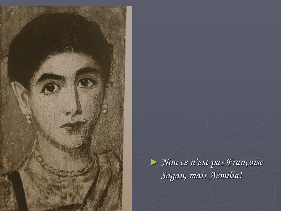 ► Non ce n'est pas Françoise Sagan, mais Aemilia!