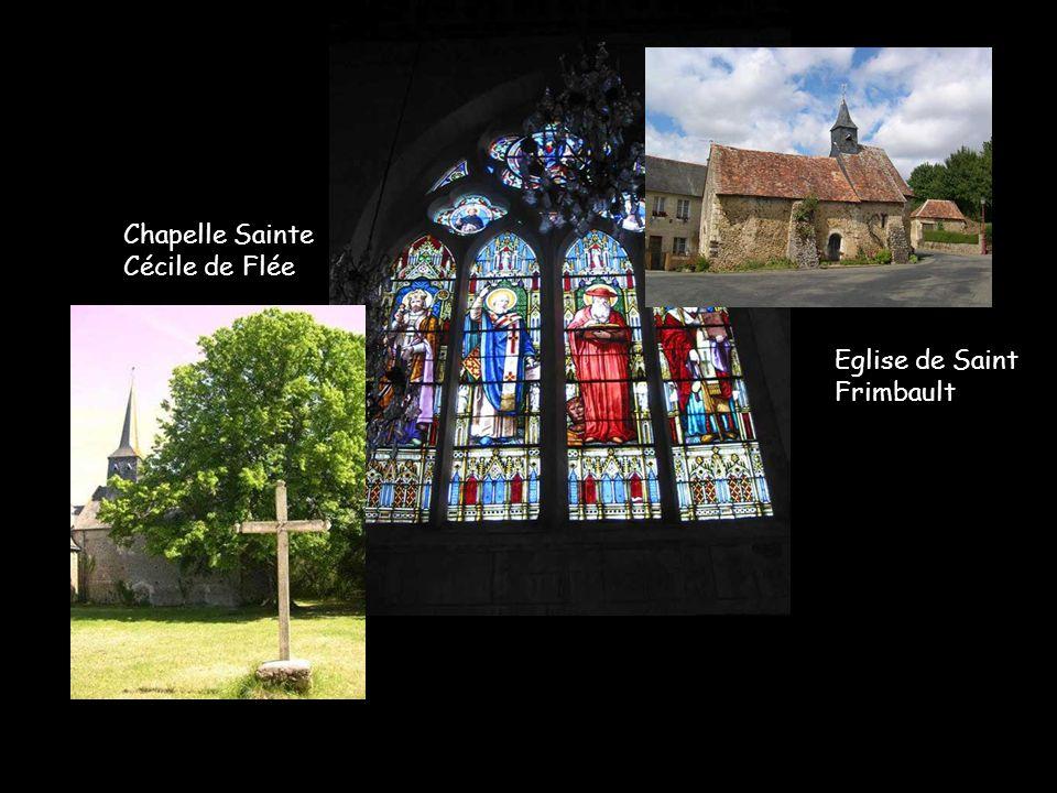 Eglise de Dissay-sous-Courcillon et le moulin